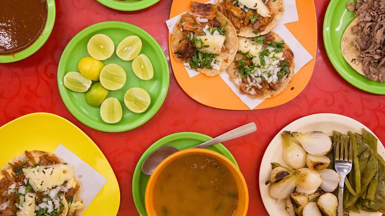 Tacos Los Amigos en la Gustavo A. Madero, CDMX