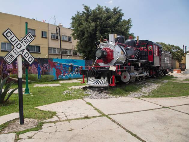 Museo de los ferrocarrileros (Foto: Alejandra Carbajal)