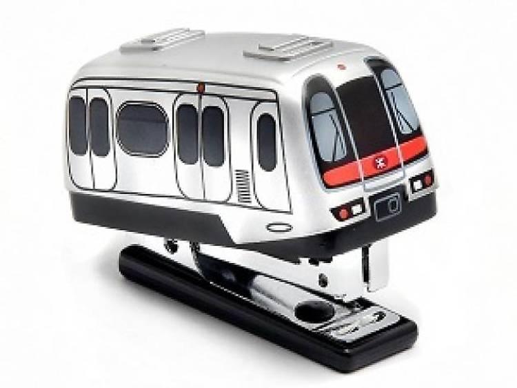MTR train stapler