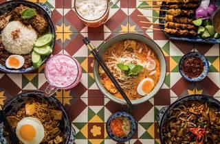 Food at Ho Jiak Haymarket