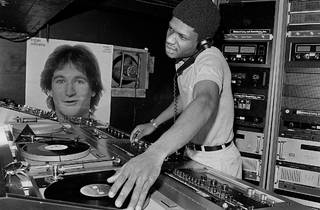 DJ Larry Levan at Paradise Garage