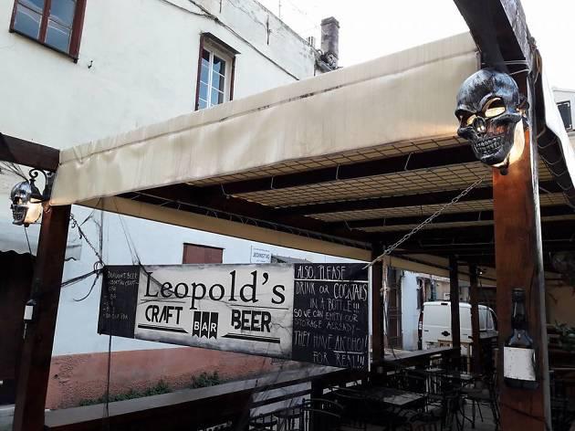 Leopold's Delicatessen bar