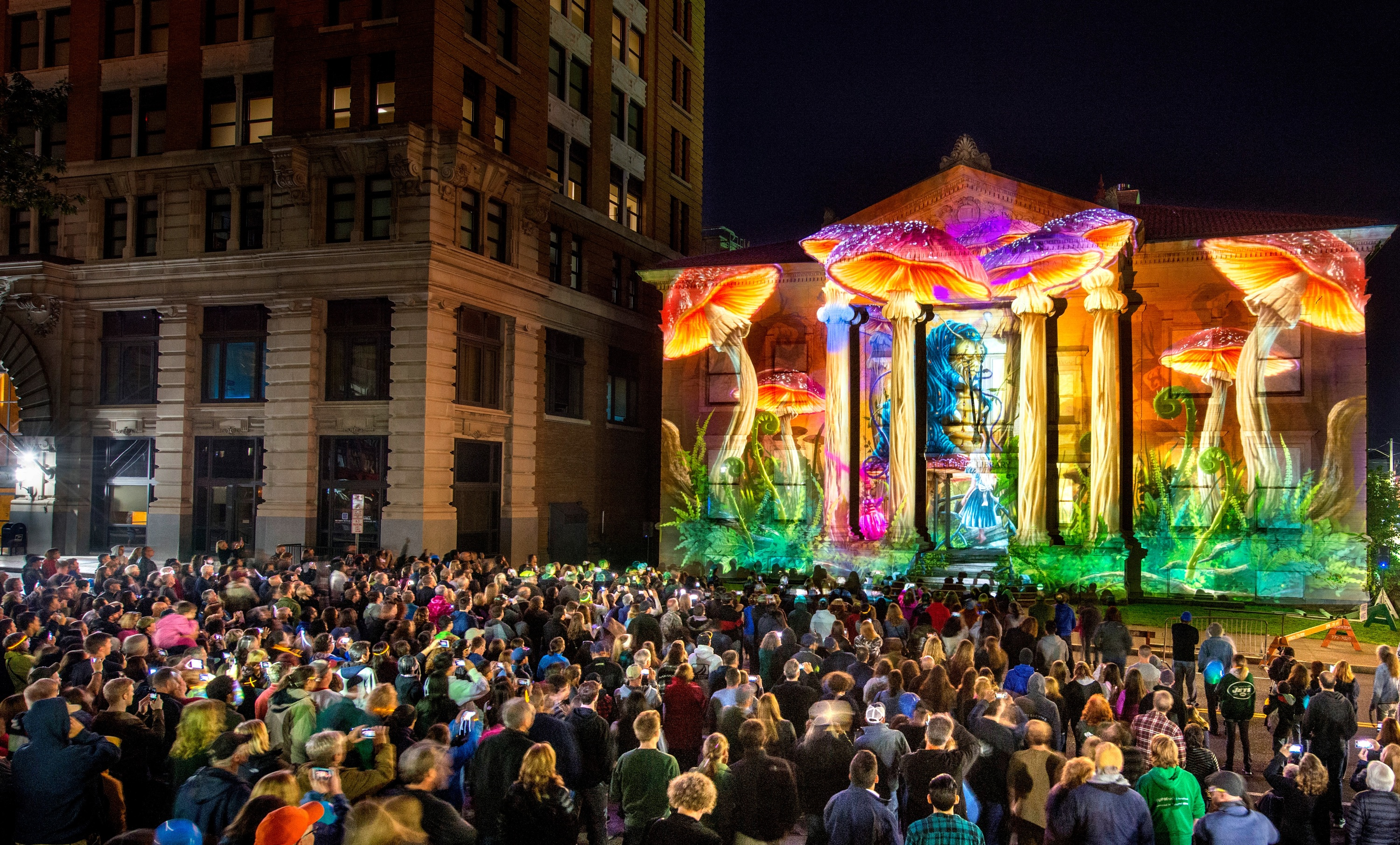 See 3D projections take over an entire downtown area in upstate New York next month