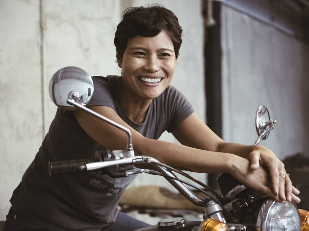 Meet Brooklyn distiller and biker Marie Estrada