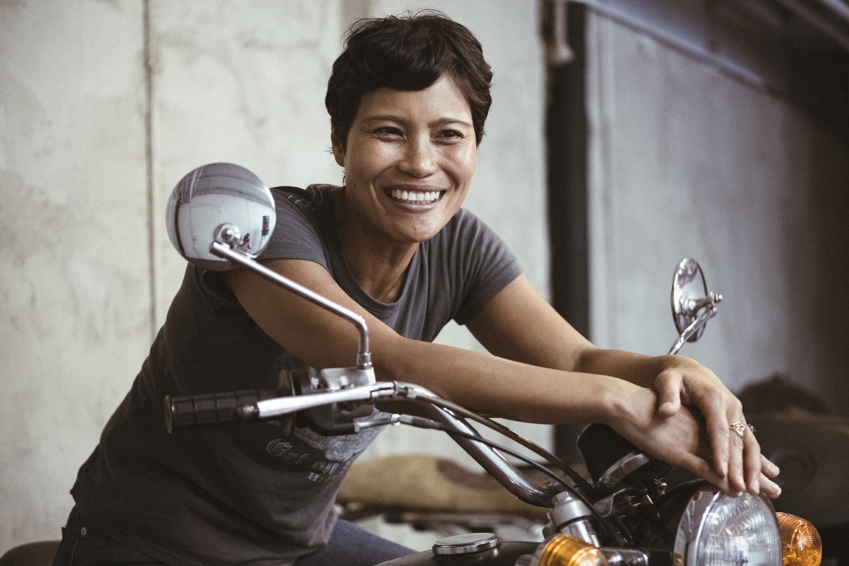 Meet Brooklyn distiller and biker Marie Estrada