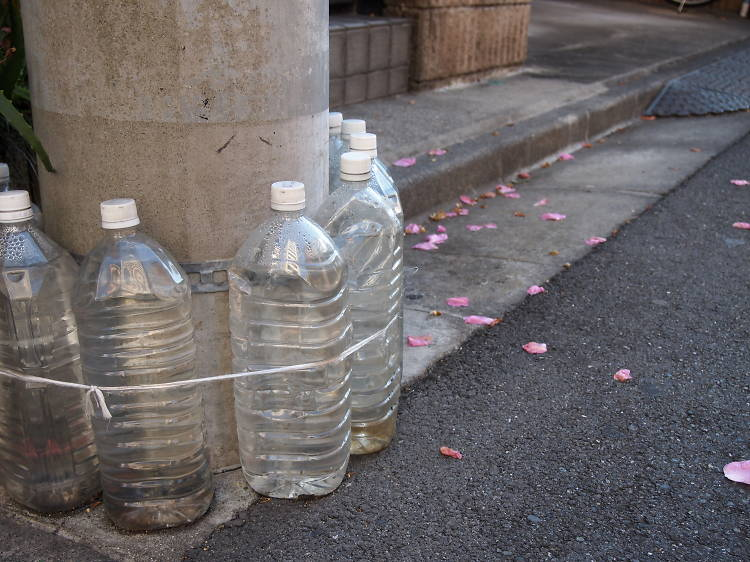 Tokyo Q&A: Why are there... bottles on the streets in Tokyo?