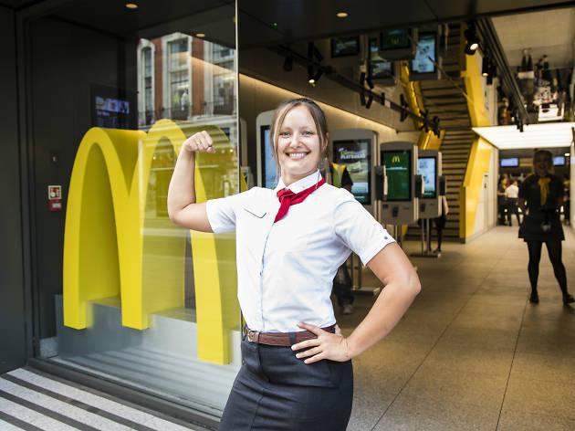 Roberta Maciuleviciute McDonald's manager TYOK