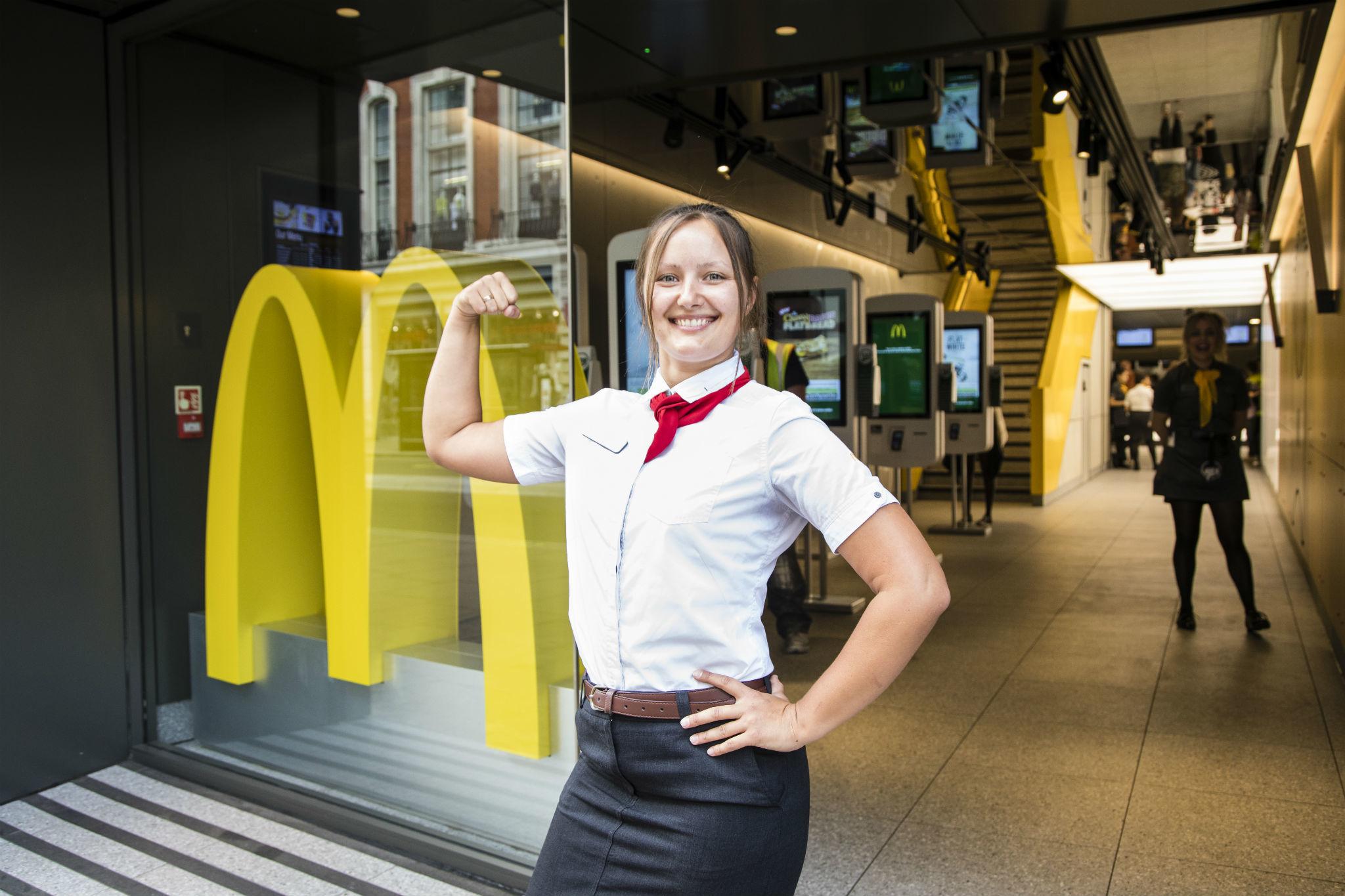 Макдоналдс картинки людей