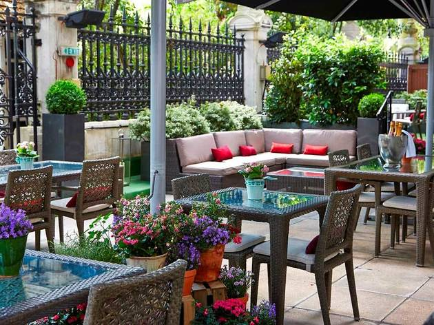 The Secret Herb Garden at The Terrace