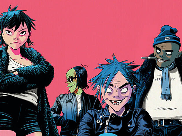 Gorillaz + The Internet