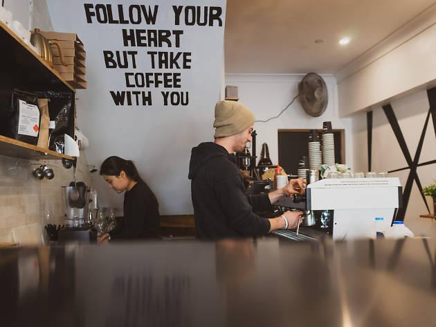 Shenkin Glebe espresso bar