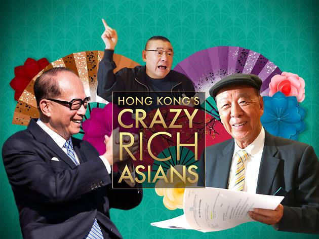 Hong Kong's crazy rich asians (new)