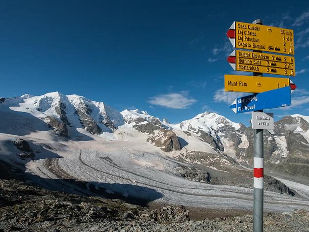 Bernina Glaciers, Rhaetian Railway campaign
