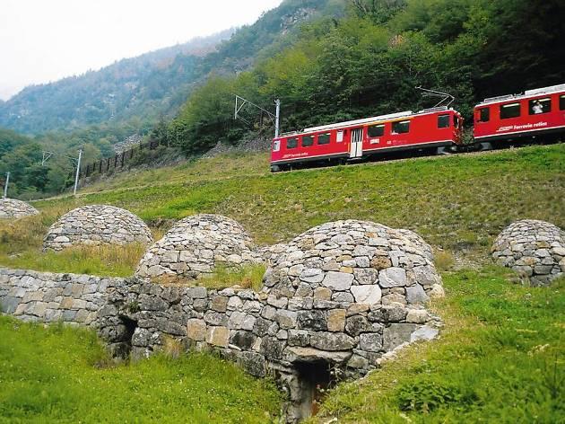 Via Valtellina, Rhaetian Railways campaign