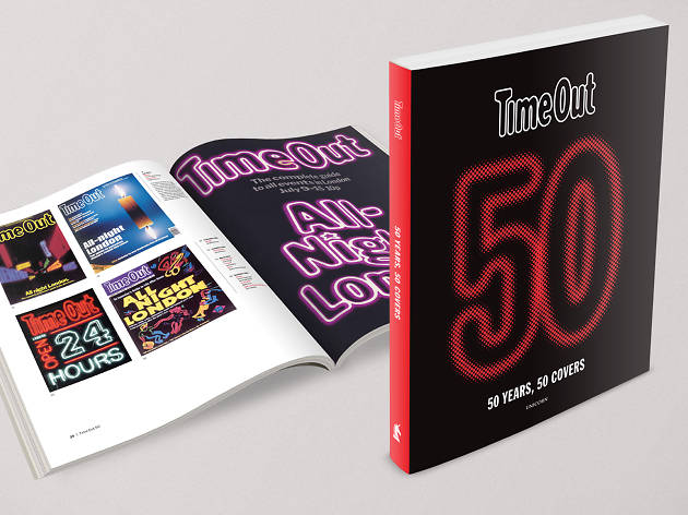 Time Out 50: 50 Years, 50 Covers book