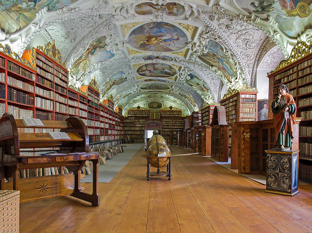 Strahov Library is one of the most impressive museums in Prague.