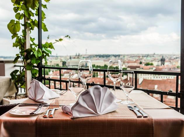 The top restaurants in Prague