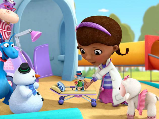 Doctora Juguetes y su hospital