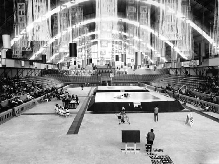 Exposición fotográfica: Olimpiada Cultural 1968