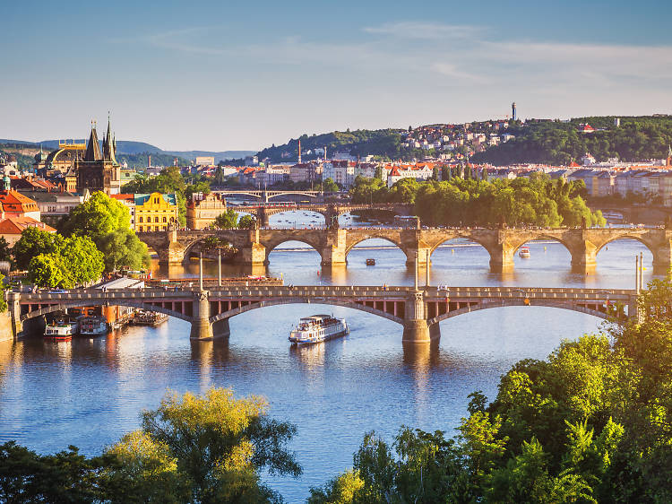 Prague has just been voted the most beautiful city in the world