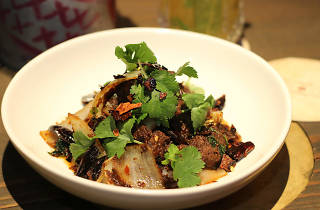 Stir-fry beef with cumin at Long Chim