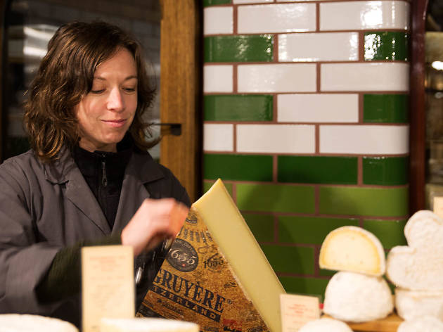 Effie Ross, cheesemonger at Spring Street Grocer