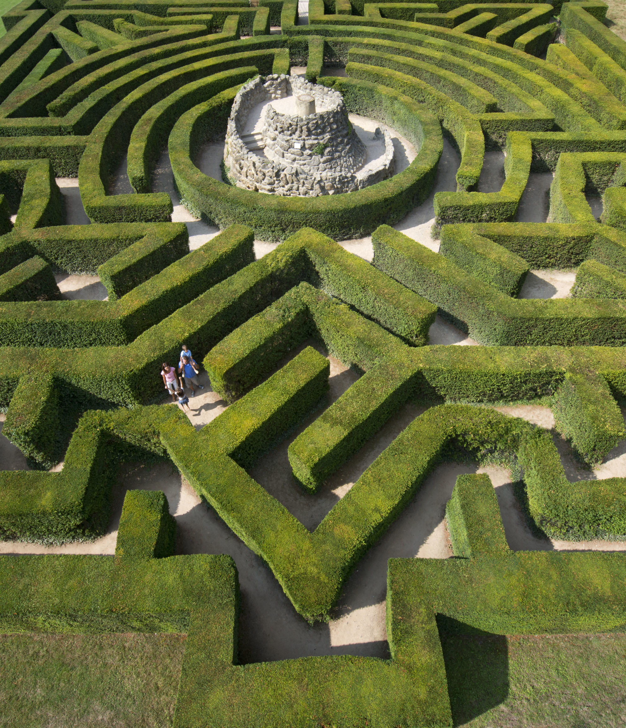 The best mazes in the UK