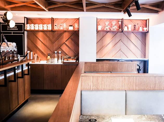 39 Steps Coffee Haus Restaurants In Soho London