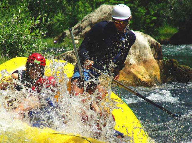 White-water rafting Cetina