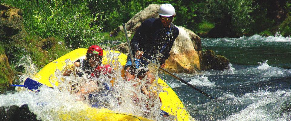 White-water rafting Cetina