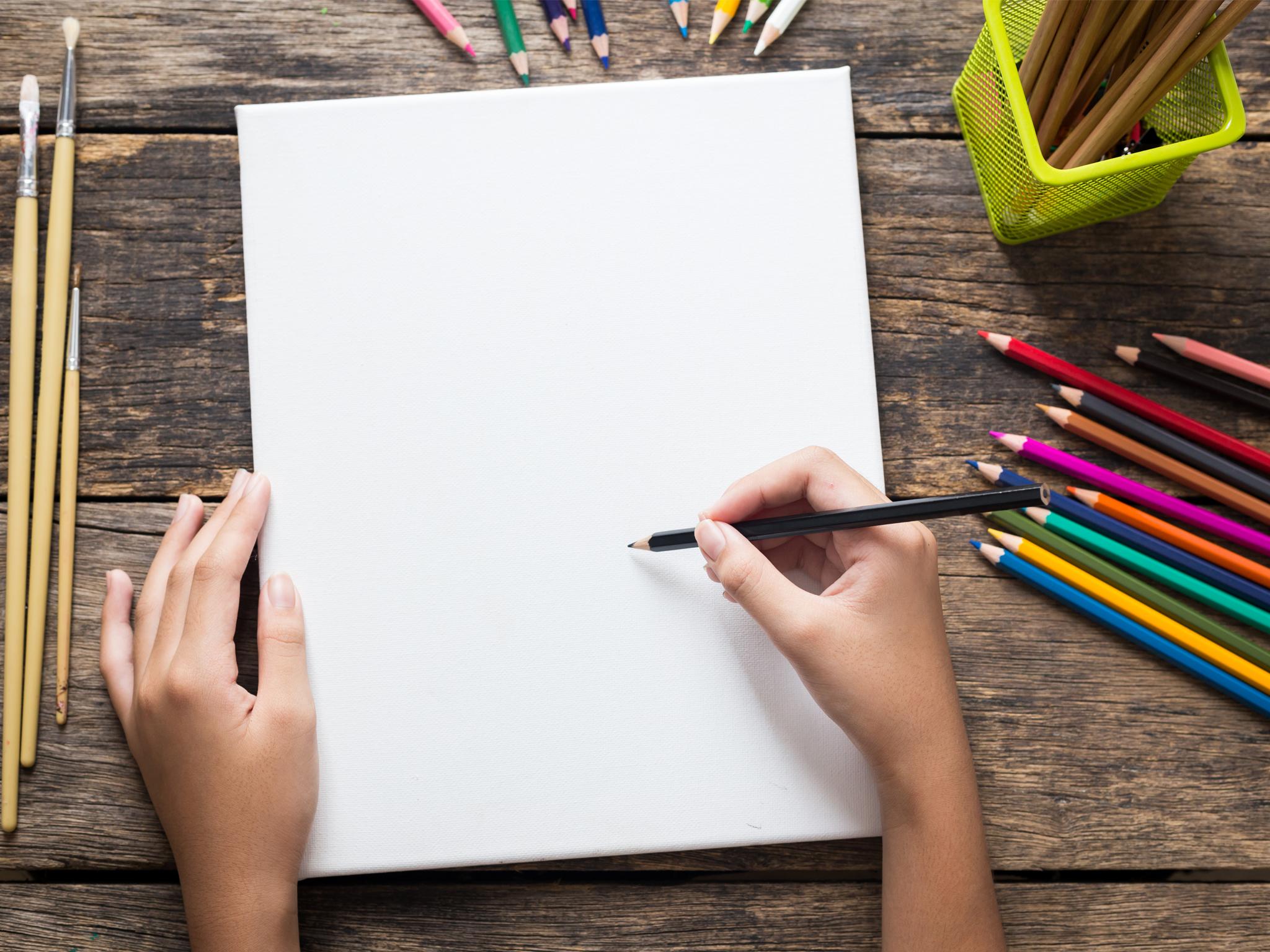 Dibuja en casa con tres sencillos ejercicios