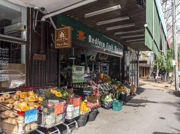 Front of Green Grocer, Vegetables