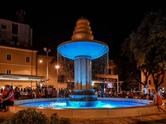 Dante square, Pula