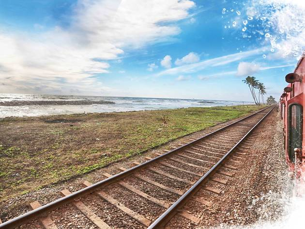 Discover the island on a train – the best views around the country