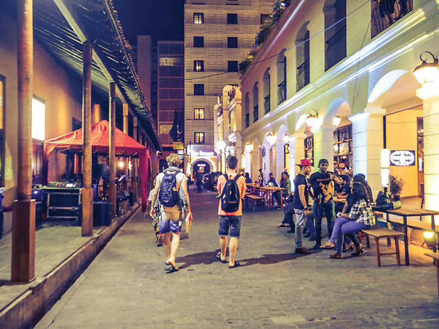 Love the laneways and dazzling promenades