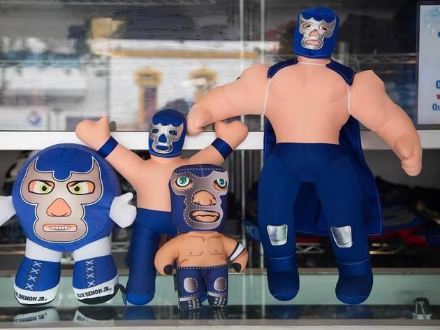 Tienda oficial Blue Demon (Foto: Alejandra Carbajal)