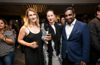 People having a good time at the Time Out Food Awards 2018