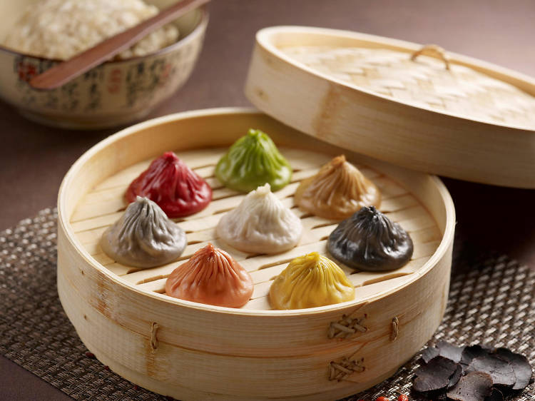 Paradise Dynasty: Eight flavoured xiao long bao
