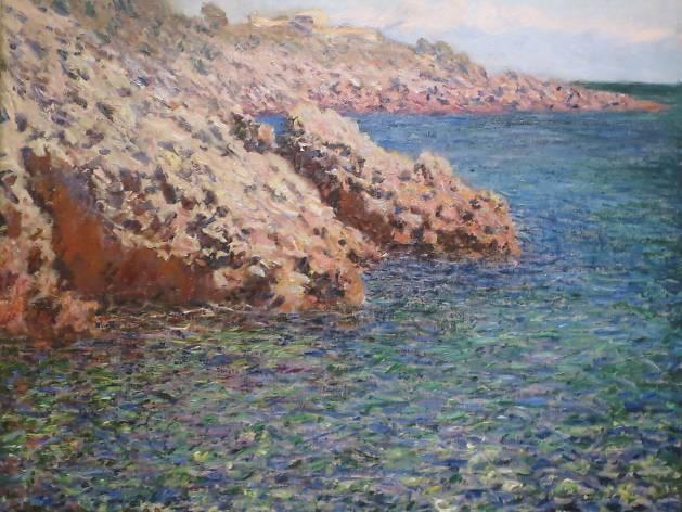 El Mediterráneo. Claude Monet