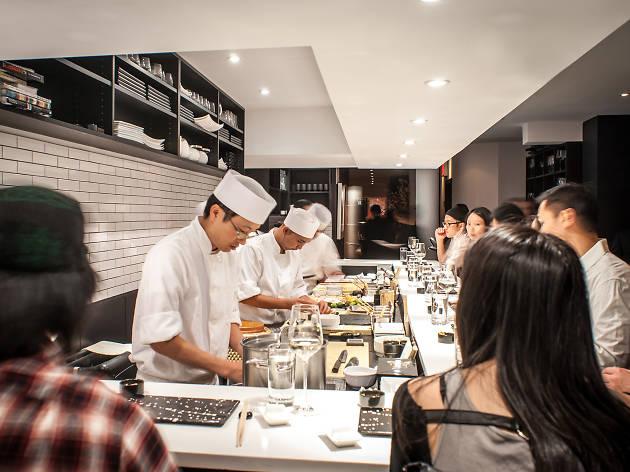Sushi Nakazawa Restaurants In West, Sushi Nakazawa Dining Room Vs Bar