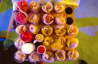 Comida Arena México, cueritos, botanas, antojos