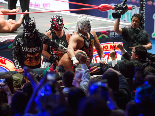 Arena México (Foto: Alejandra Carbajal)