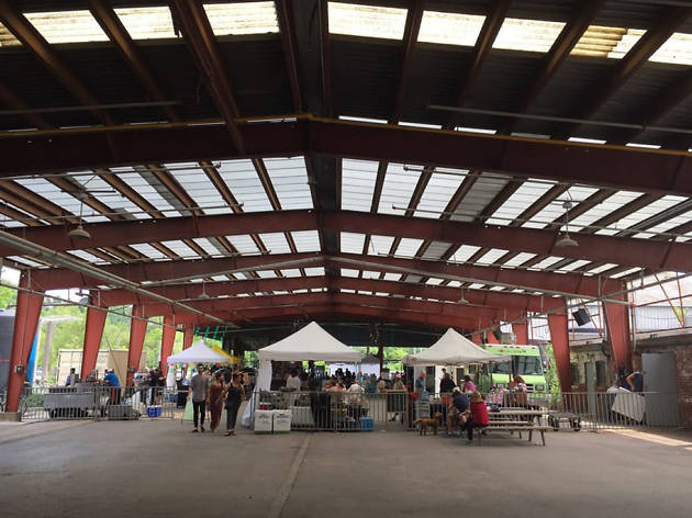 Farmers Market at Evergreen Brick Works