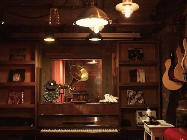 the music parlour