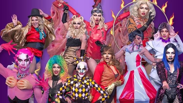 Versus drags queen, programa en YouTube