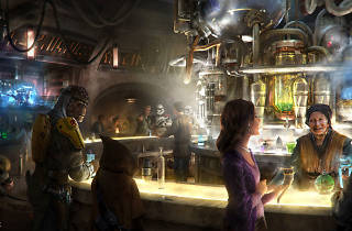 Star Wars Cantina in Disneyland's new Star Wars Galaxy's Edge park