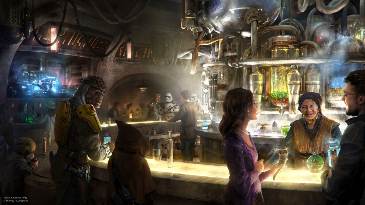 There's going to be a boozy bar called Oga's Cantina
