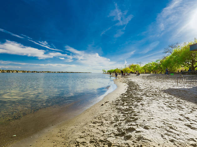 The most beautiful beaches in Toronto