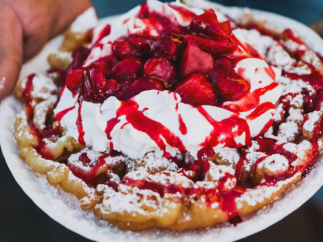 the l a county fair unveiled a great value menu so you can stuff