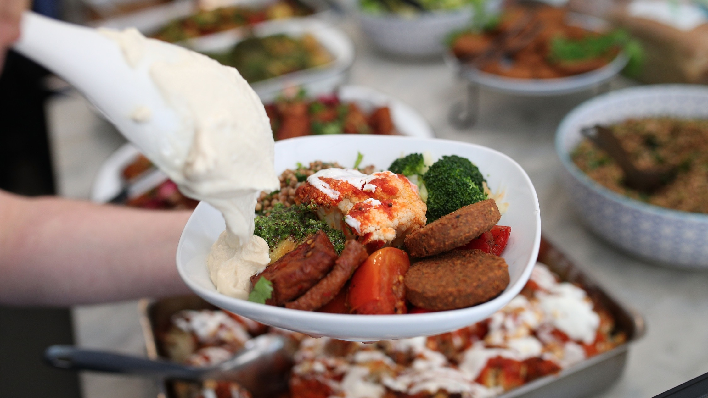 food at Tofu Shop International